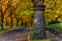 South Hill Stone Pillars in Fall