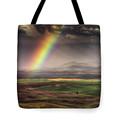 Palouse Rainbow Tote Bag