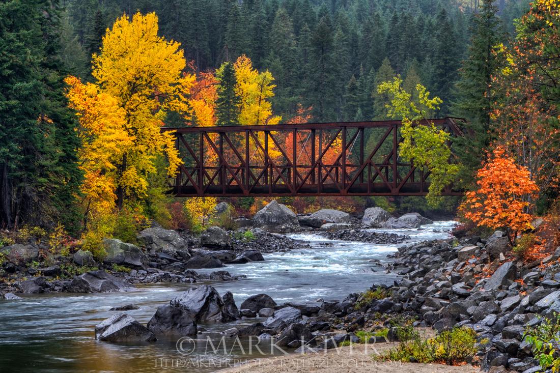 Tumwater Canyon Bridge