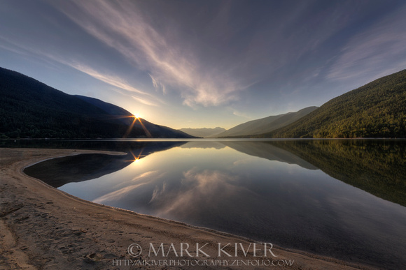 Kootenay Lake Sunrise