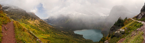 Grinnell Glacier Trail Panorama