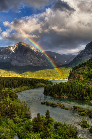 Swiftcurrent River Rainbow