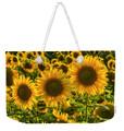 Sunflower weekender Tote