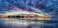Chesterman Beach Sunset Panorama